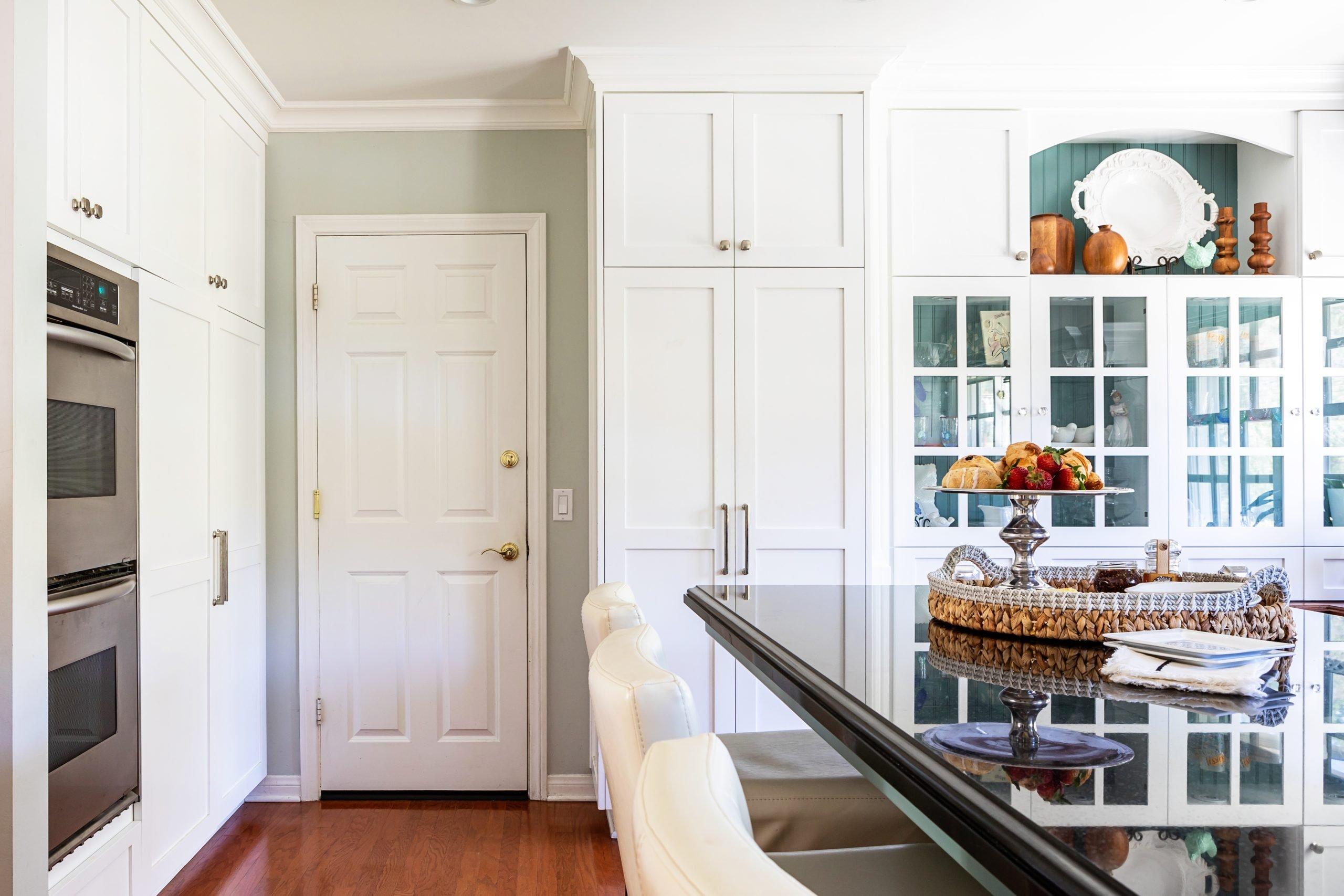 Kitchen Renovation in Hidden Hills, CA - JLK interiors - bright, family-friendly kitchen